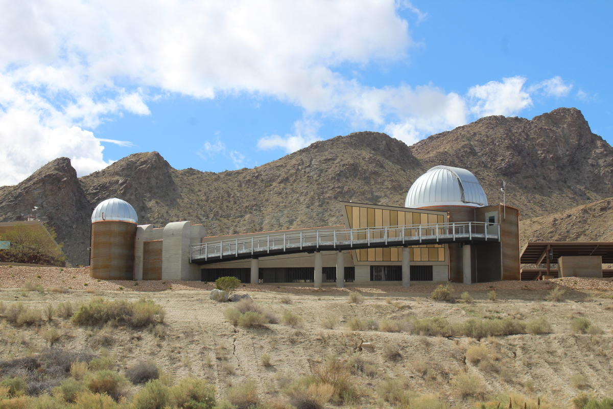 Exterior of the Rancho Mirage Observatory during the Day