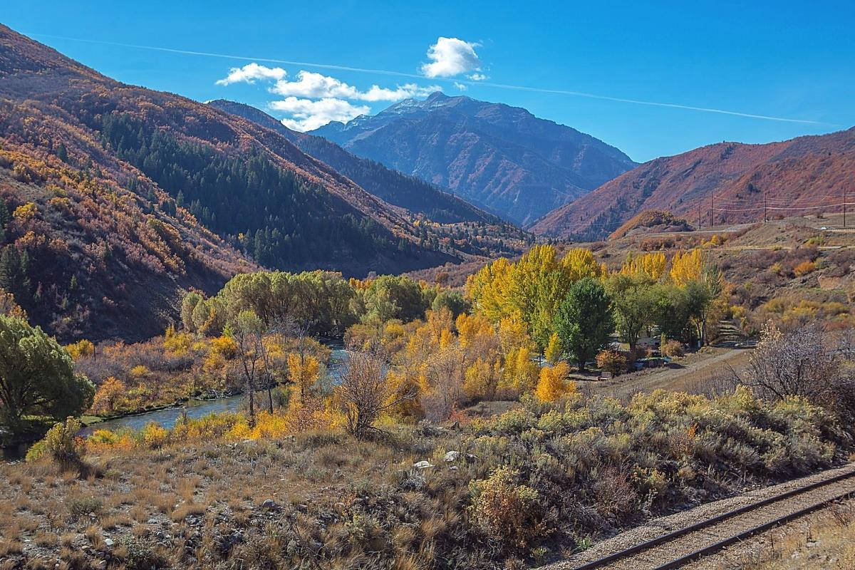 Provo Canyon is 28 miles of stunning views