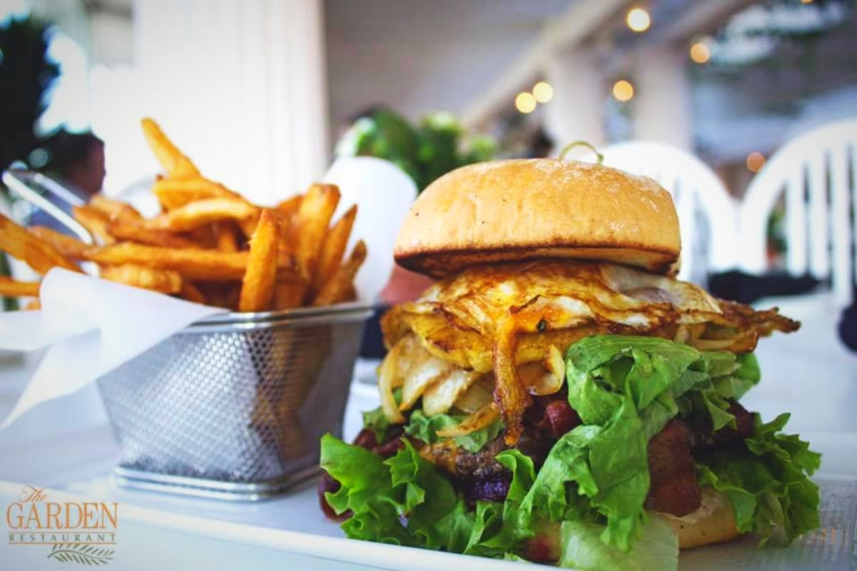 "The Garden Restaurant's ""Gourmet Burger Tuesday"" should not be missed"