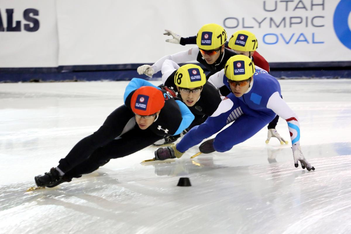 Speed Skating at the Utah Olympic Oval