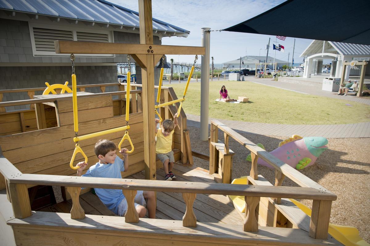 Kure Oceanfront Park - boy