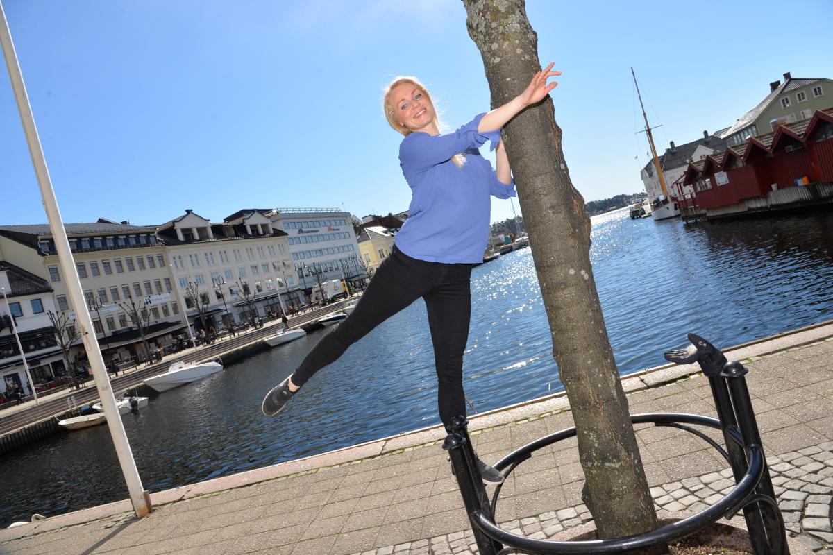 Elsa lookalike in Arendal