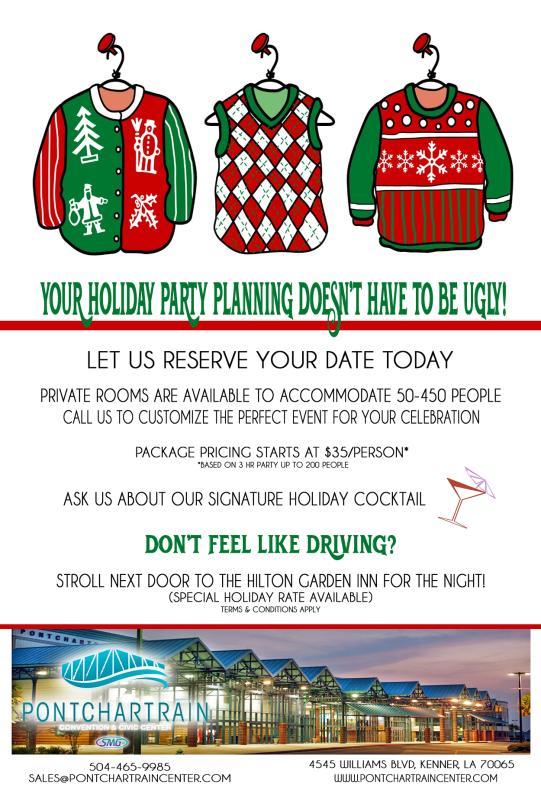 Pontchartrain Center Holiday Special