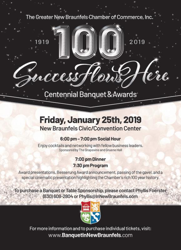 CORRECT 2018 Banquet Invitation