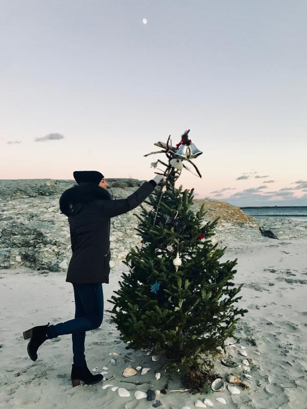 Second Beach Christmas Tree