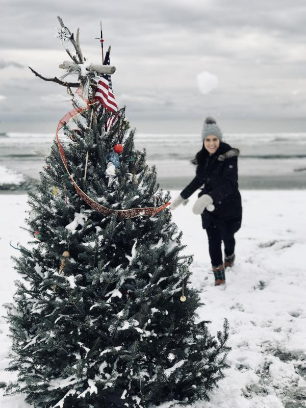 Second Beach Christmas Tree - Spots Decorated For Christmas In Newport Discover Newport, Rhode