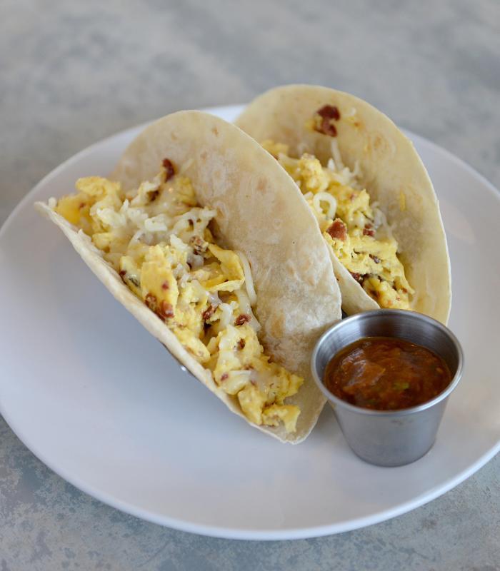Dish Society breakfast tacos