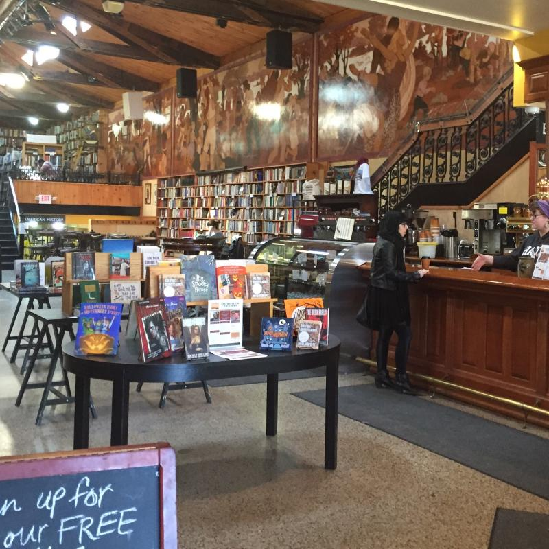 Midtown Scholar Book Store Interior by Mackenzie Carpenter - Oct. 2015