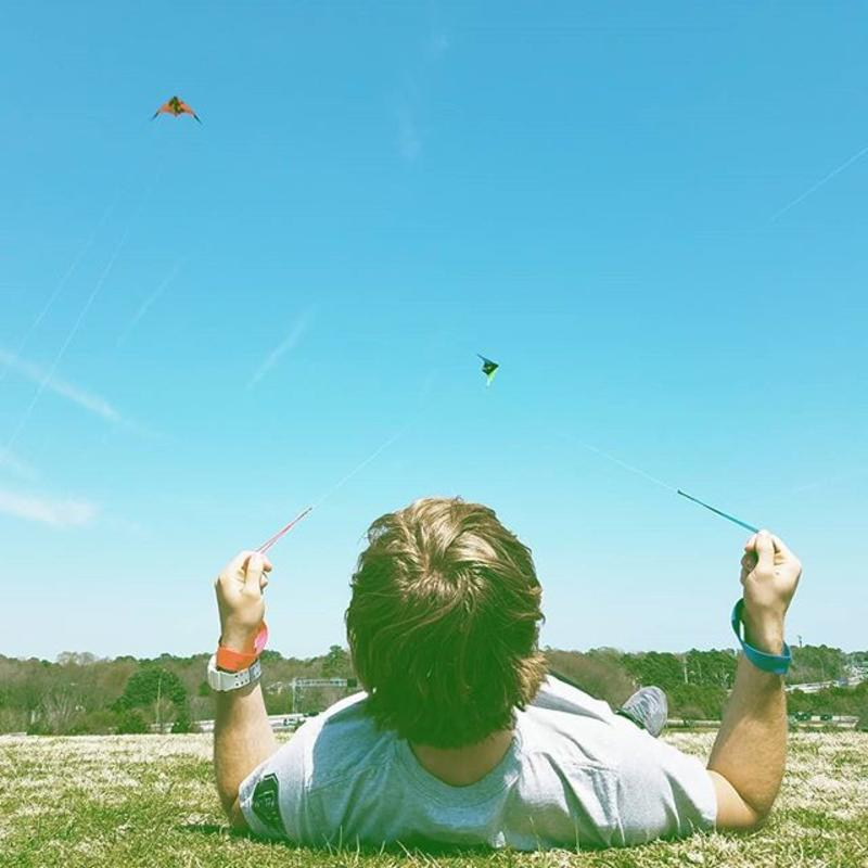 Mount Trashmore Kite Flying