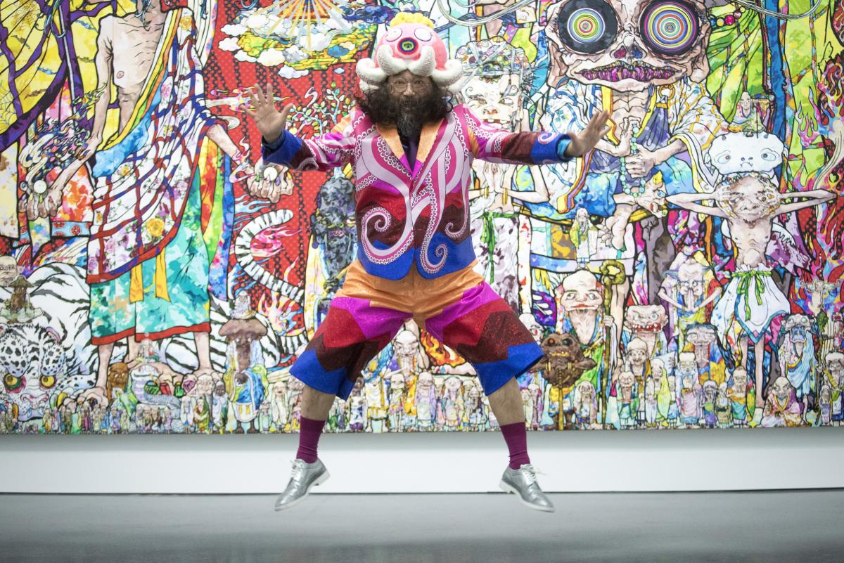 museum of contemporary art chicago whimsy reigns at the murakami