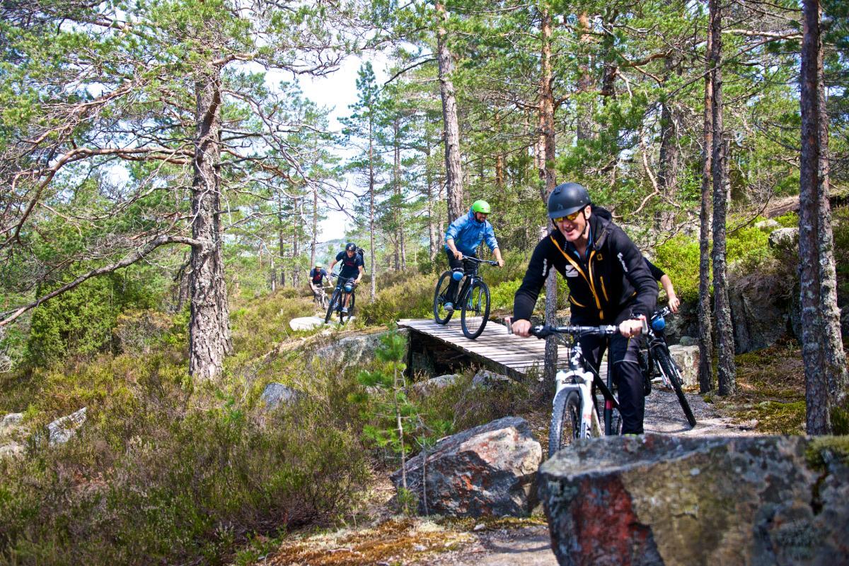Sykkelløyper hos Troll Aktiv