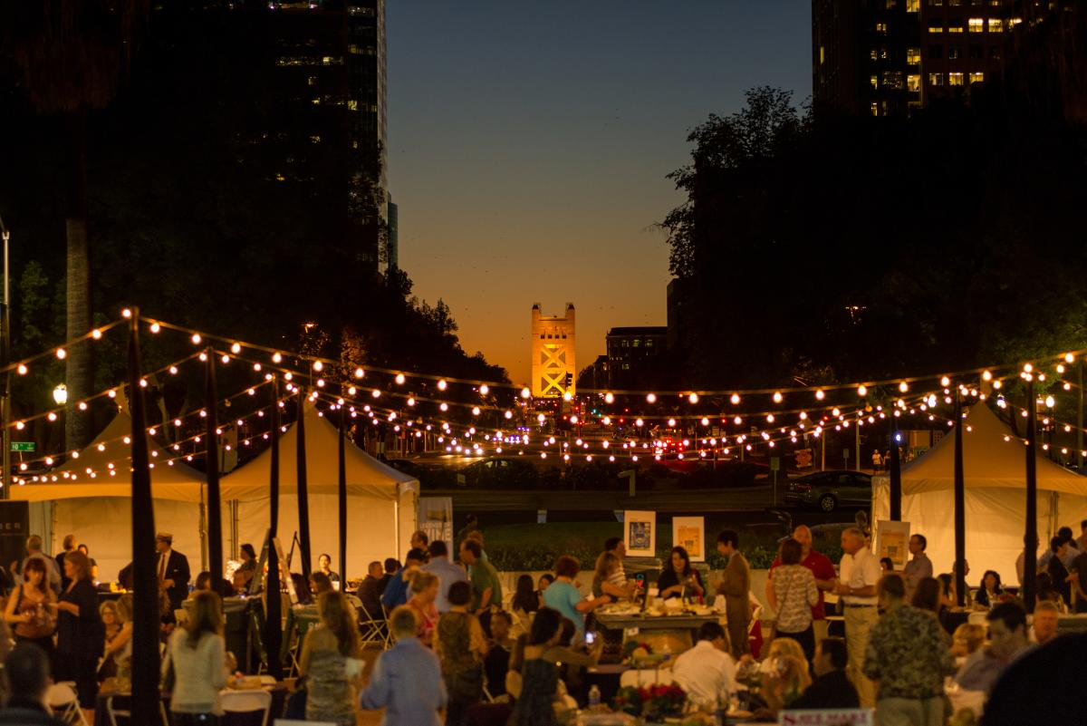 Legends of Wine event at California State Capitol 2014
