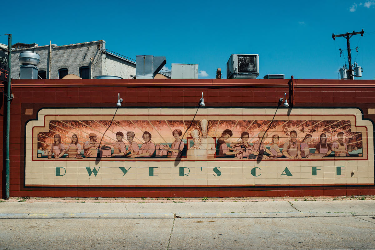Dwyer's Cafe Mural