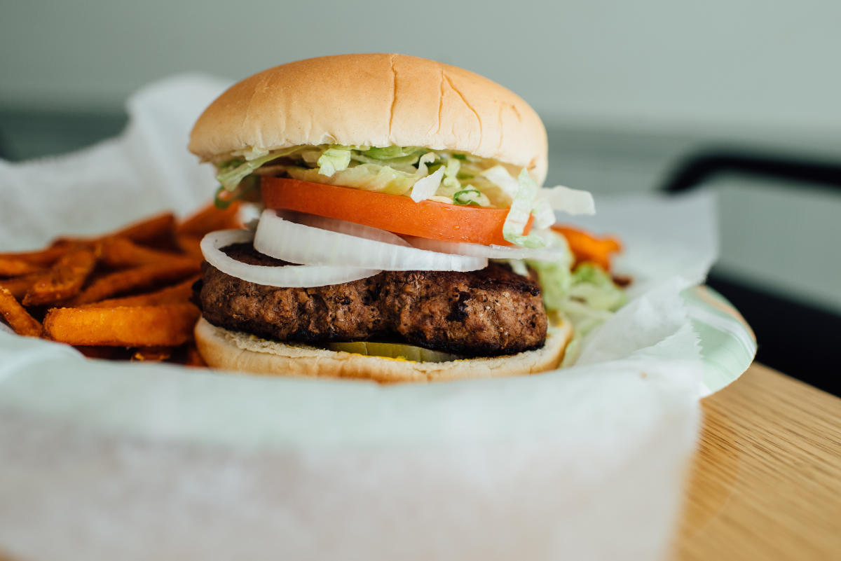 Lunch Box Hamburger