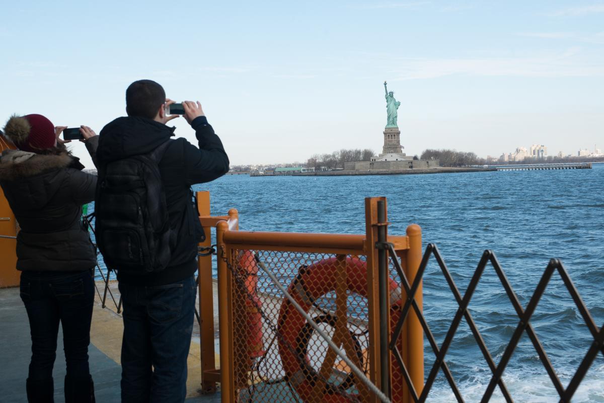 The Staten Island Ferry. Photo by Julienne Schaer.