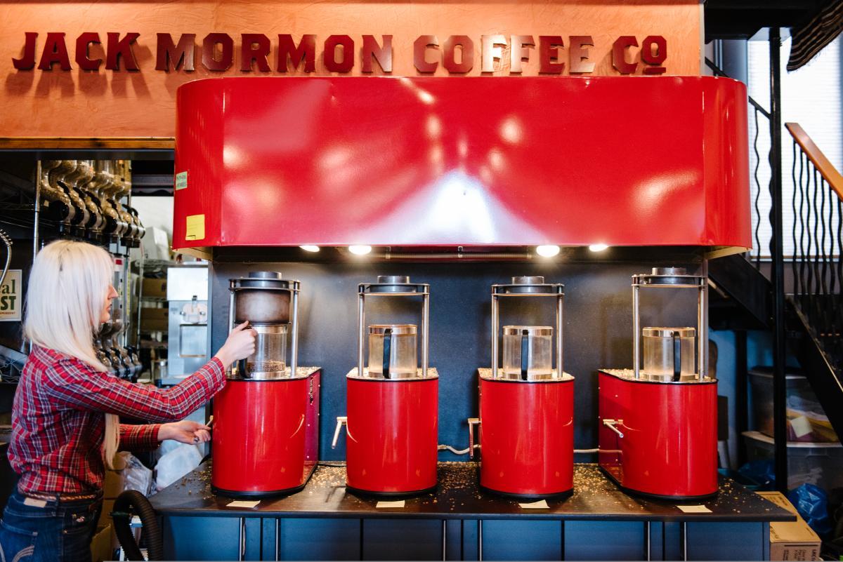 Jack Mormon Coffee