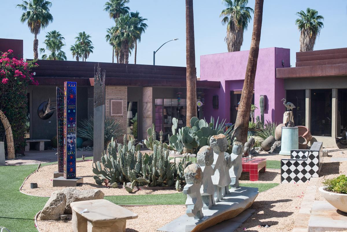 Desert Art Collection Sculpture Garden