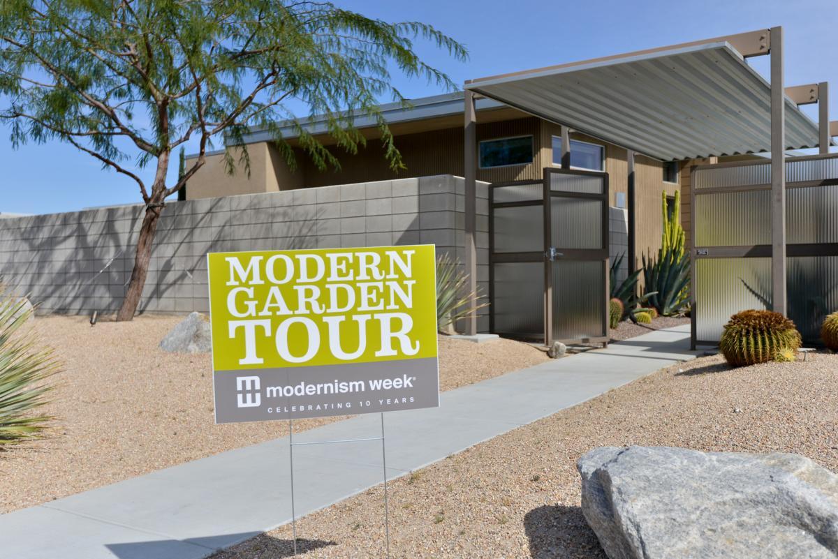 Modernism Week Garden Tour