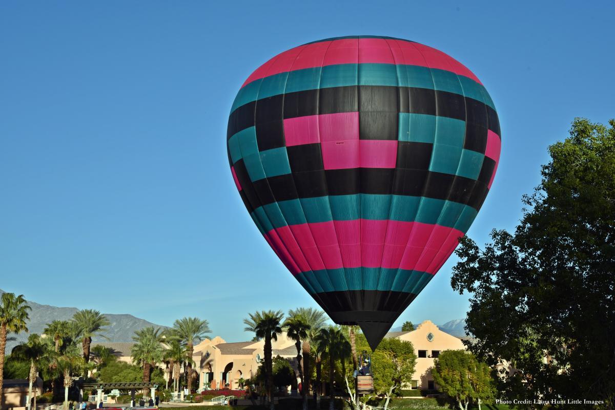 Hot Air Balloon Launch Daytime