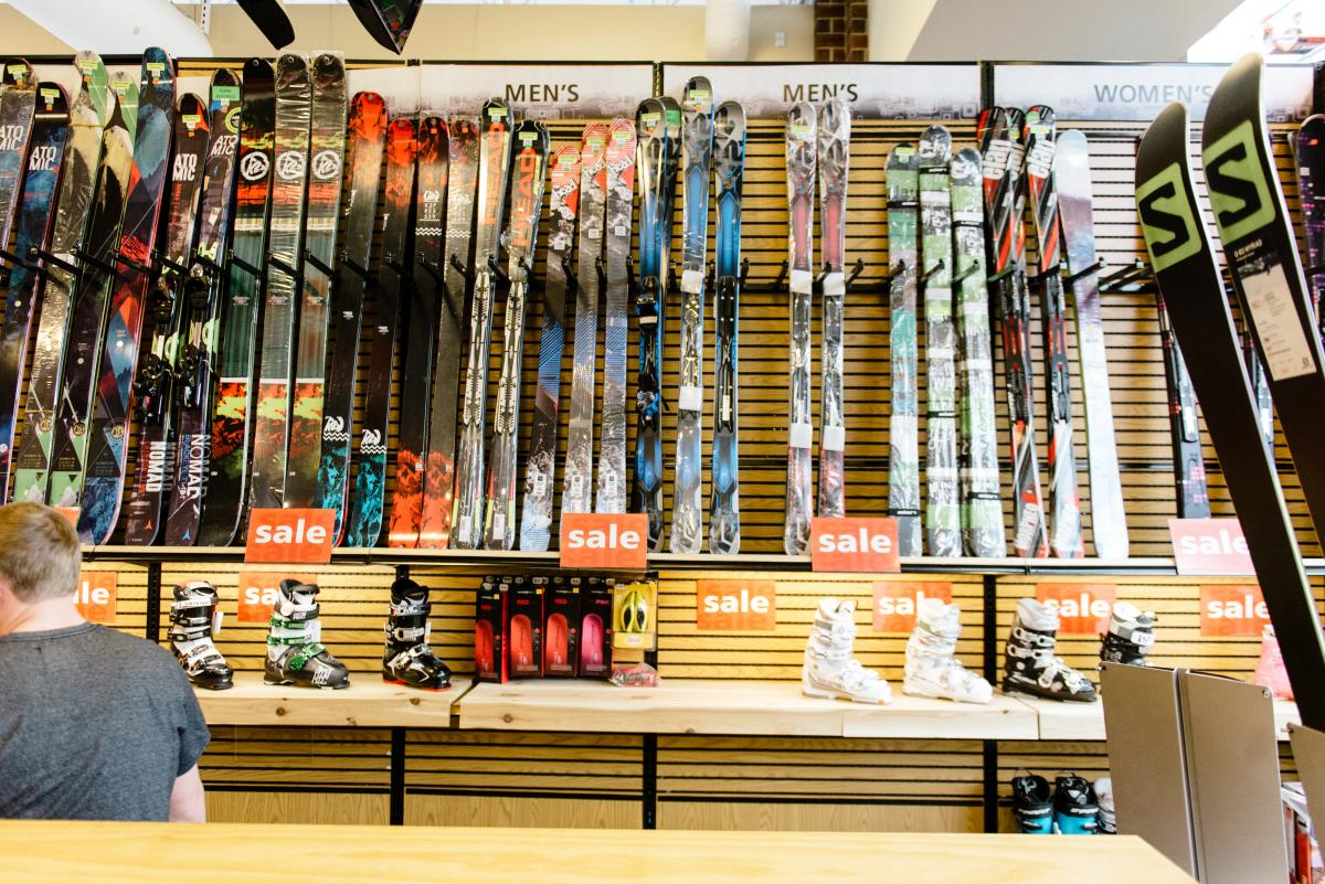 Ski Rentals in South Valley