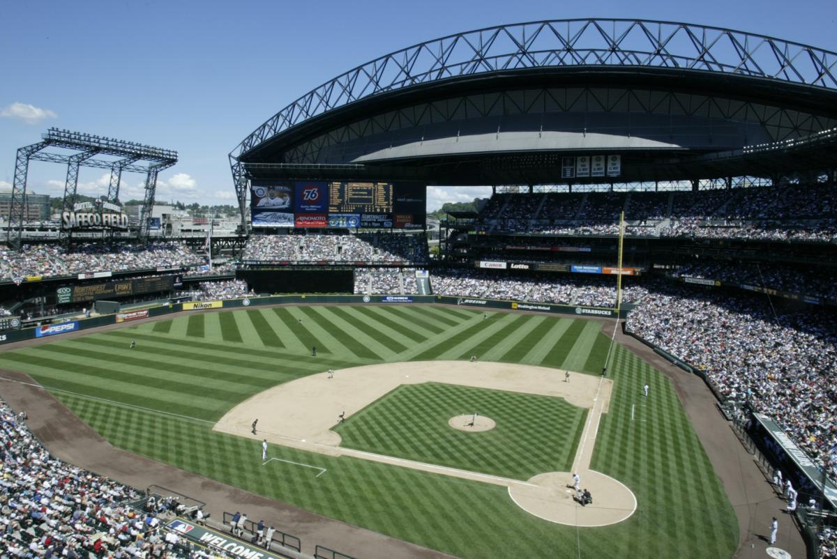 Safeco Field on a Sunny Day