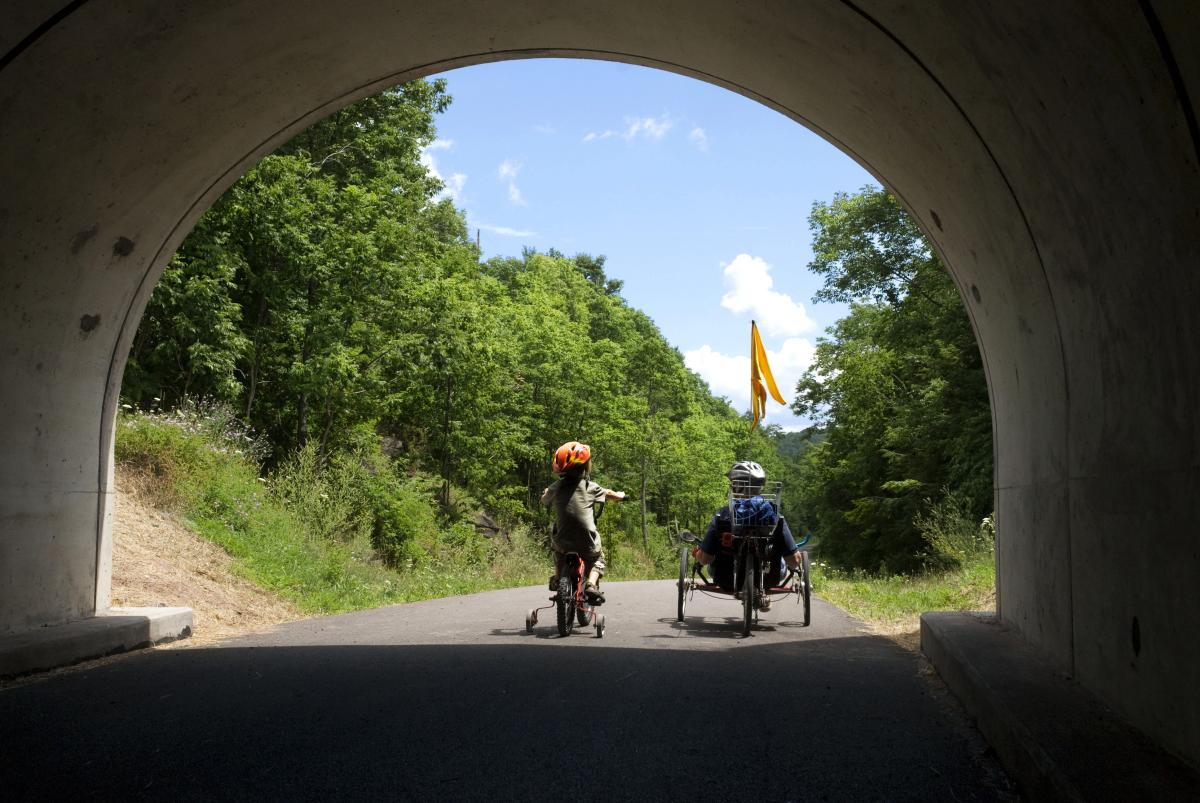 Continental Divide, Great Allegheny Passage