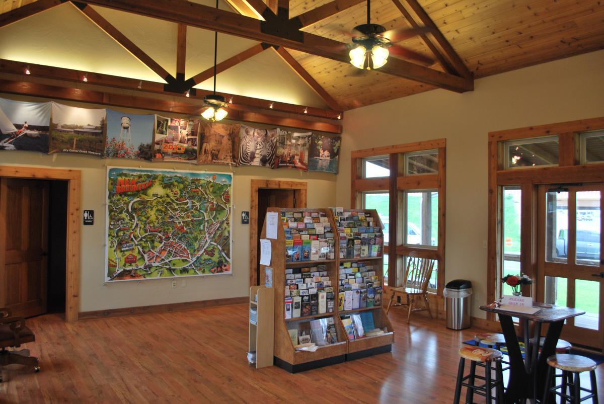 Highway Visitor-Center inside
