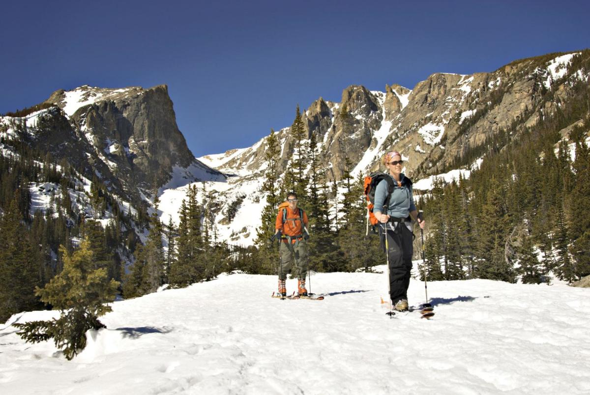 Skiing and Snowshoeing in the Picturesque Backcountry