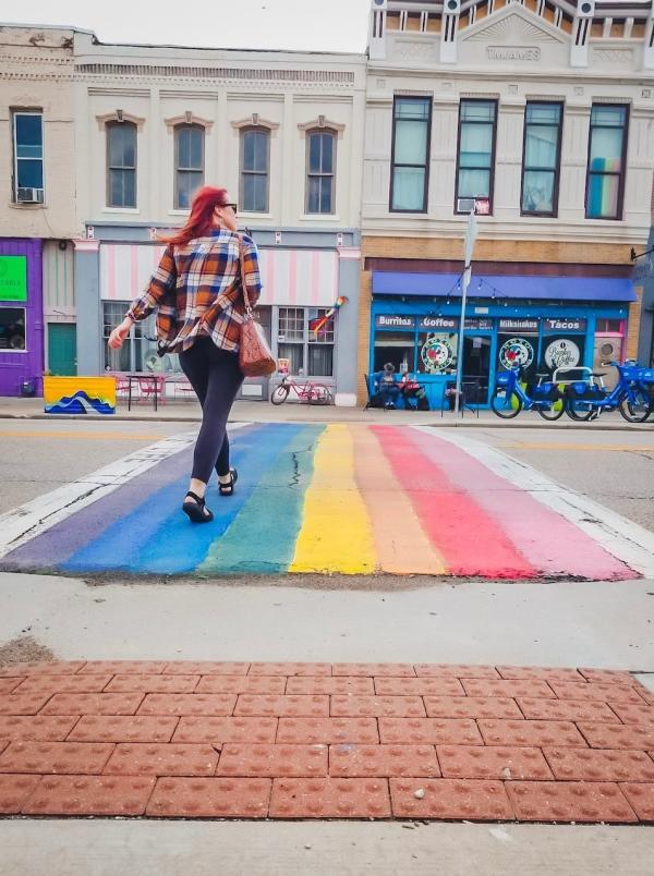 NOTO Arts District | Rainbow Walk Topeka, KS Rebekah Baughman