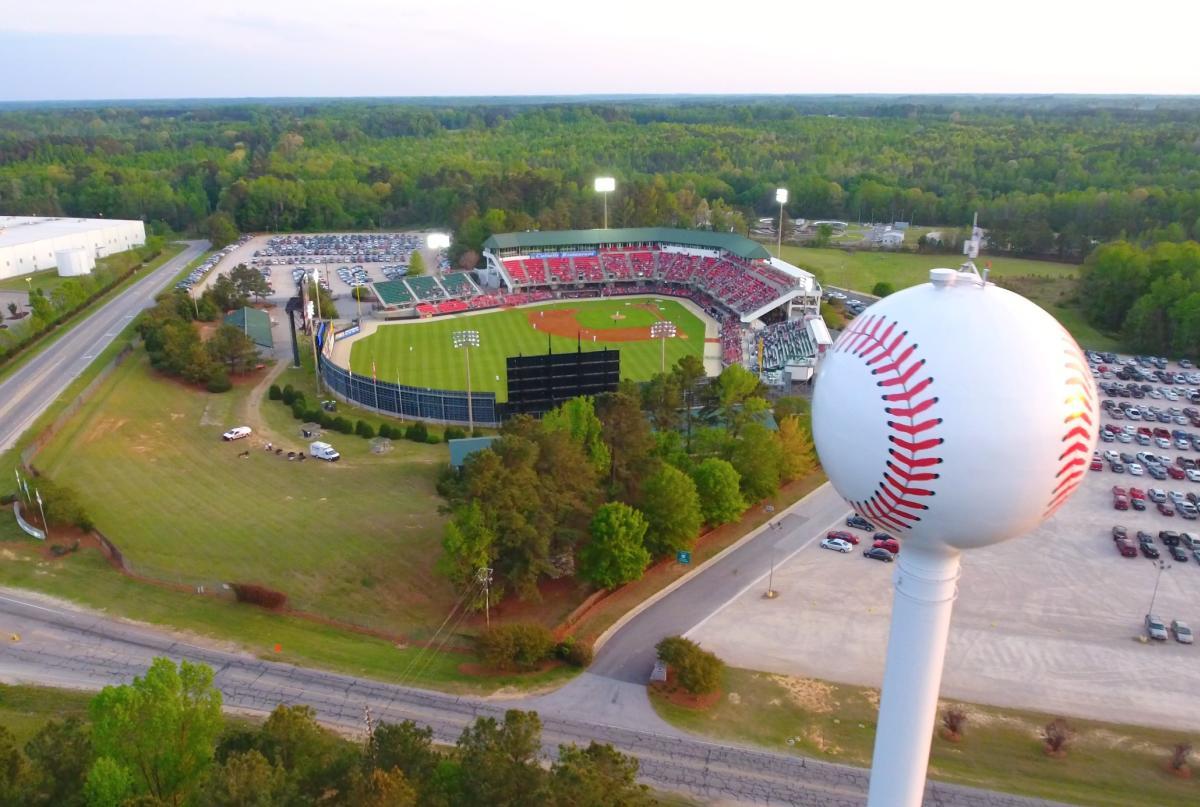 Five County Stadium, Zebulon