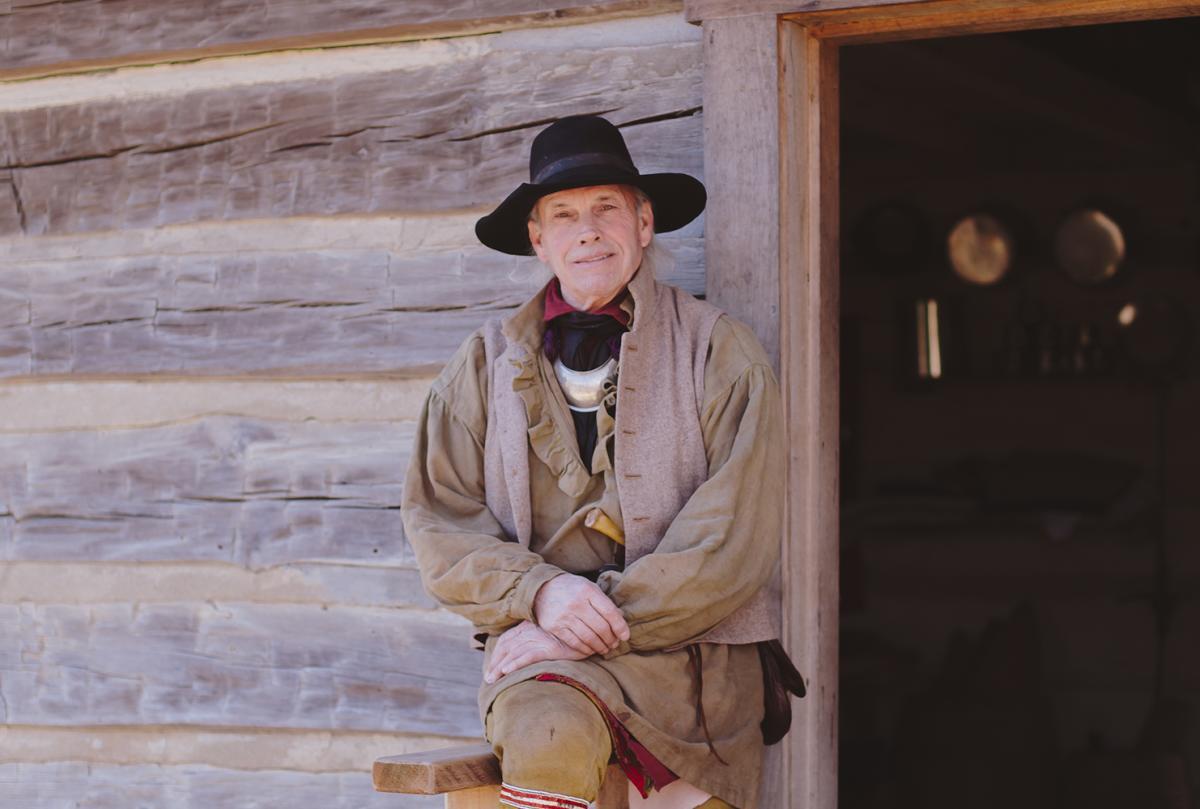 Conner Prairie Interpreter