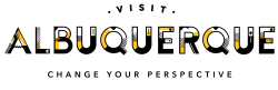 Visit Albuquerque Logo Yellow