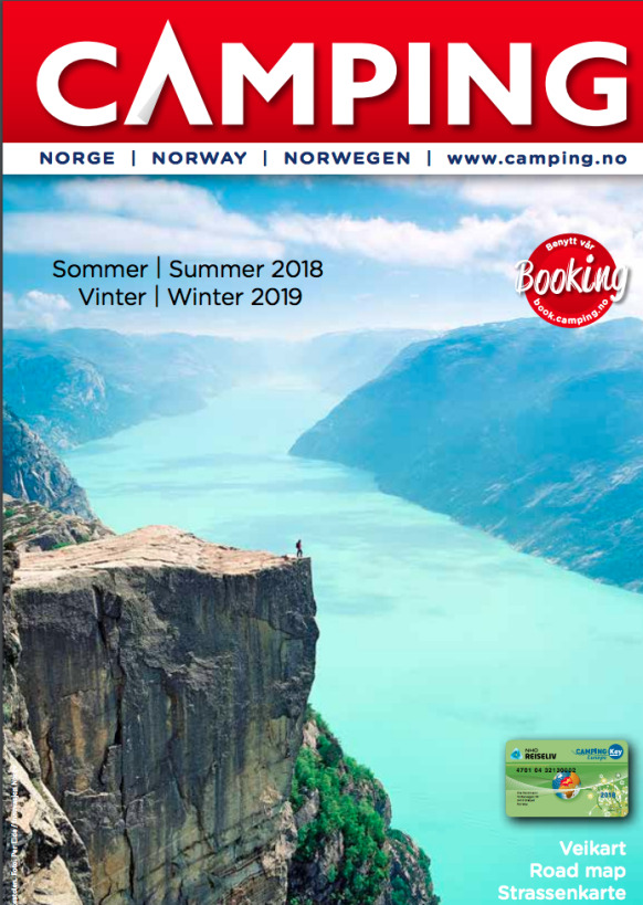 Norwegian Camping Guide 2018–2019