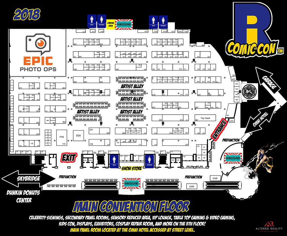 Comic Con - Main