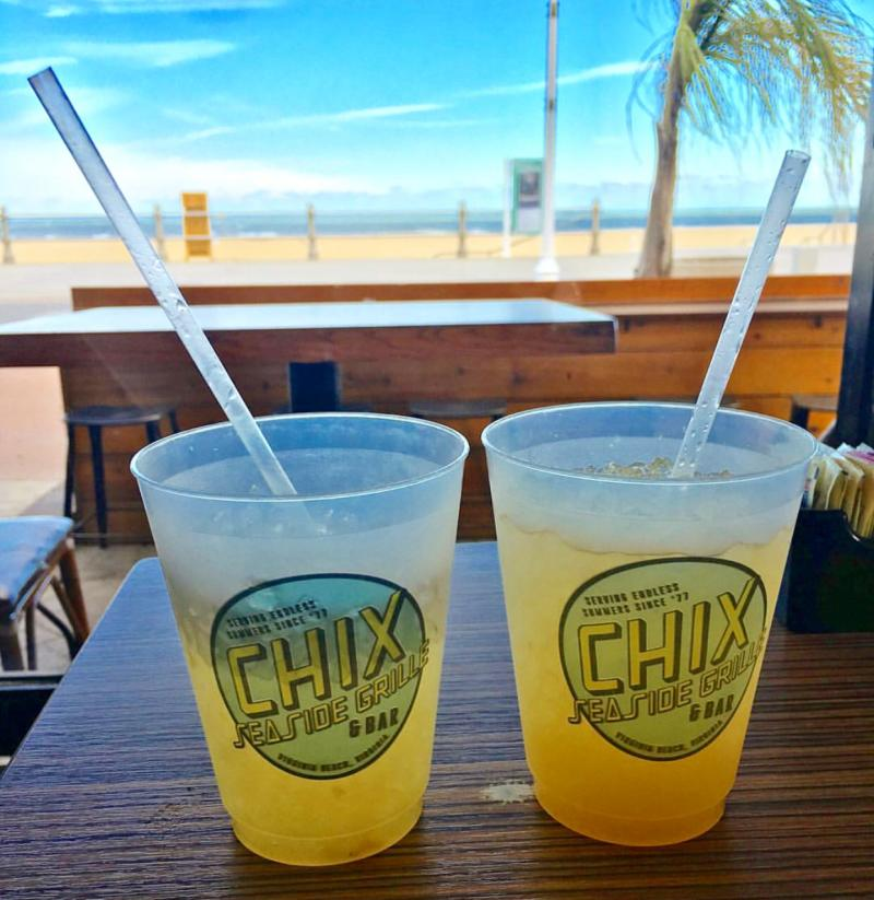 Chix Seaside Grill Water Views