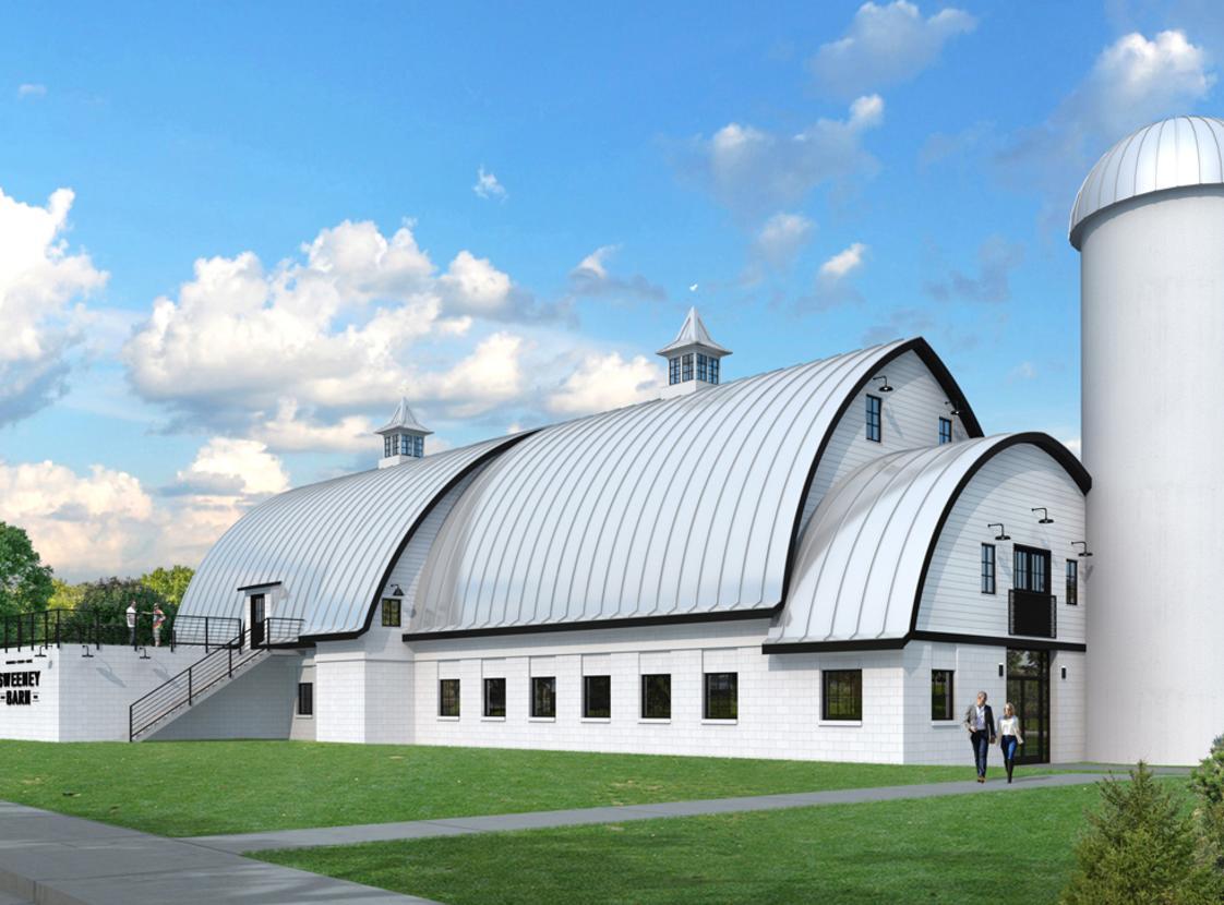Sweeney Barn exterior rendering