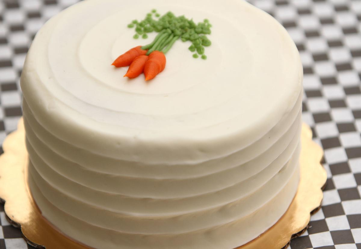 Carrot Cake from Daube's in Rochester, MN