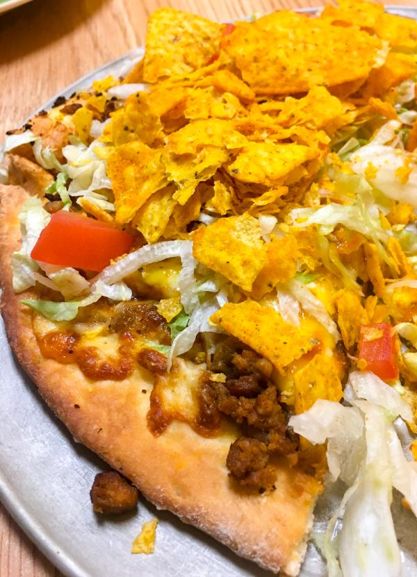 Taco Pizza at Raimondos