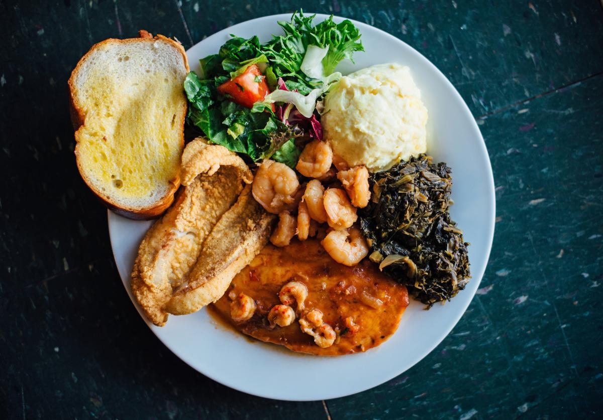 Norbert's Plate Lunch