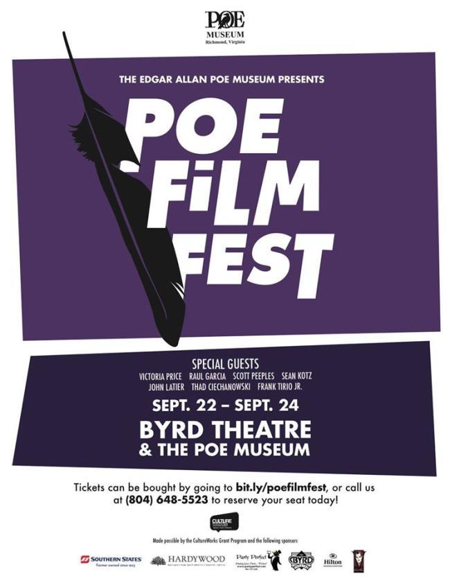 Poe Film Festival poster