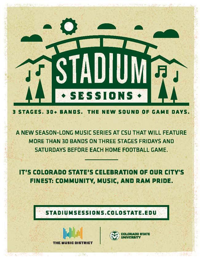 Stadium Session brochure logo