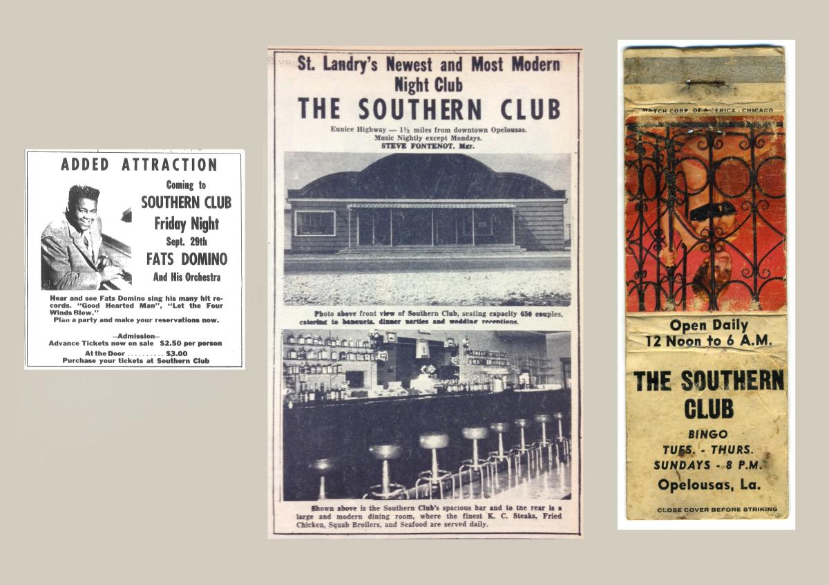 Southern Club Press Clippings