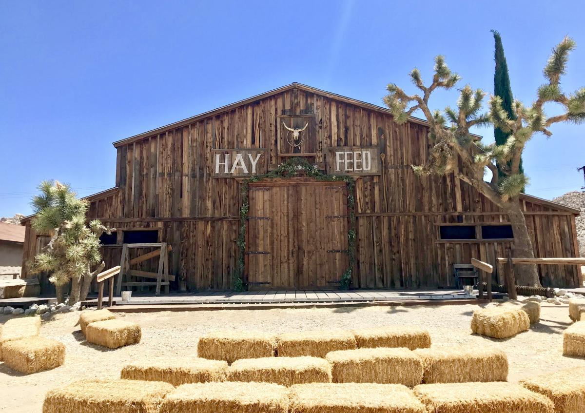Pioneertown Hay Feed