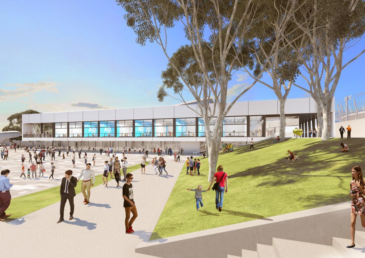 Melbourne & Olympic Parks Premier Events & Experiences. Expansion.
