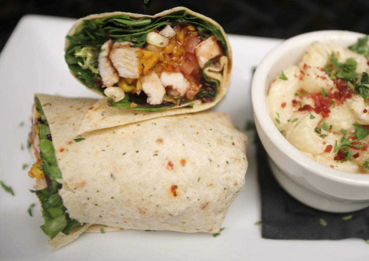 Midwest Chicken Wrap at Half Barrel Bar & Kitchen in Rochester, MN