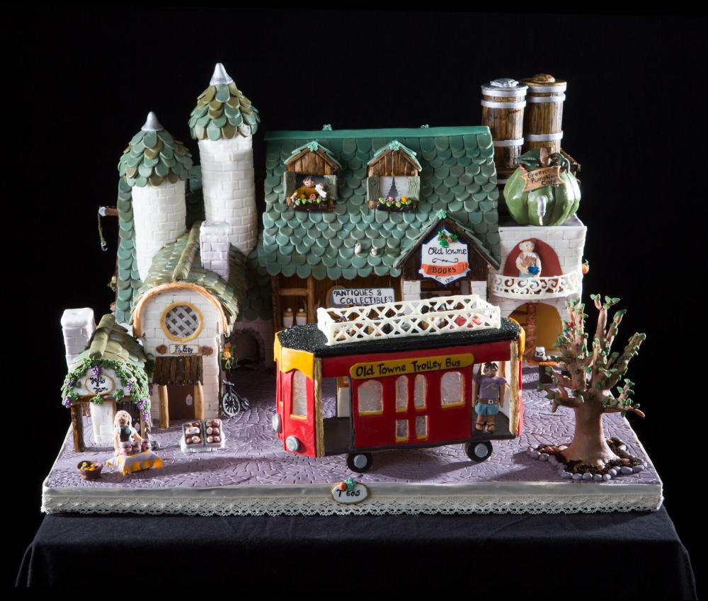 2018 National Gingerbread House Competition Teen First Place
