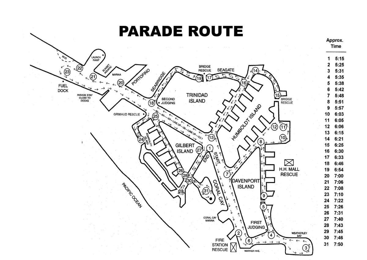 Huntington Harbour Boat Parade