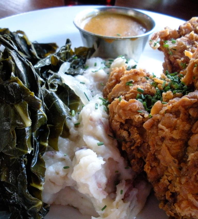 Fish Dinner (Soul Food)