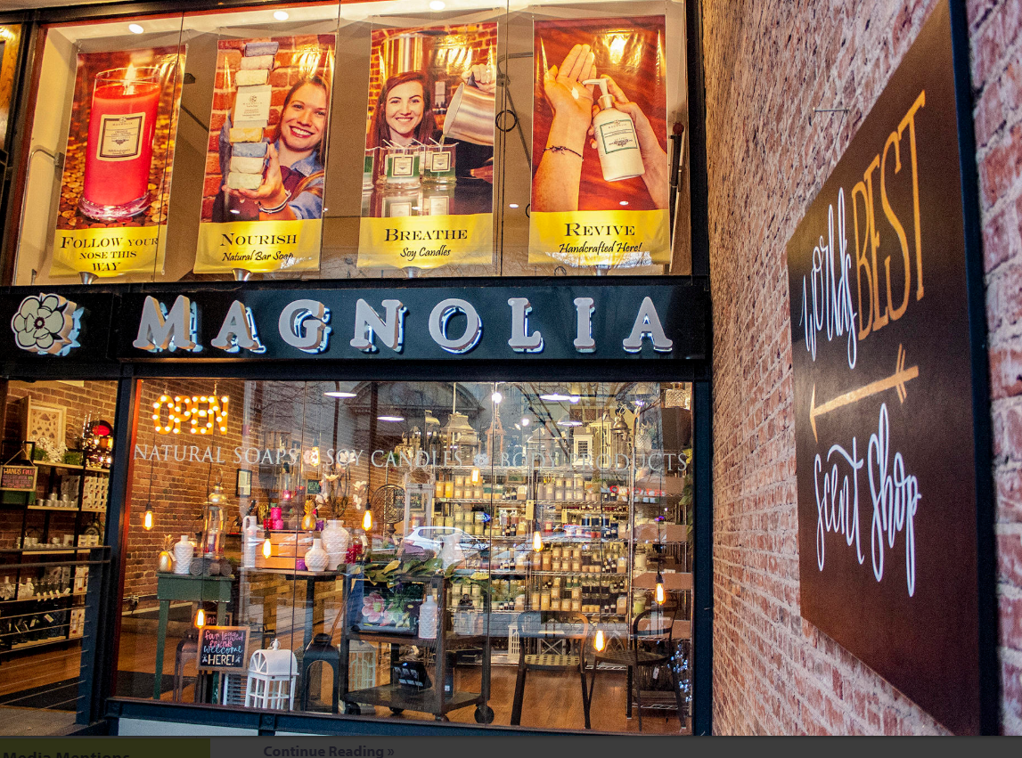 Front of Store Magnolia Scents