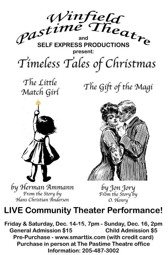 pastime theatre christmas plays